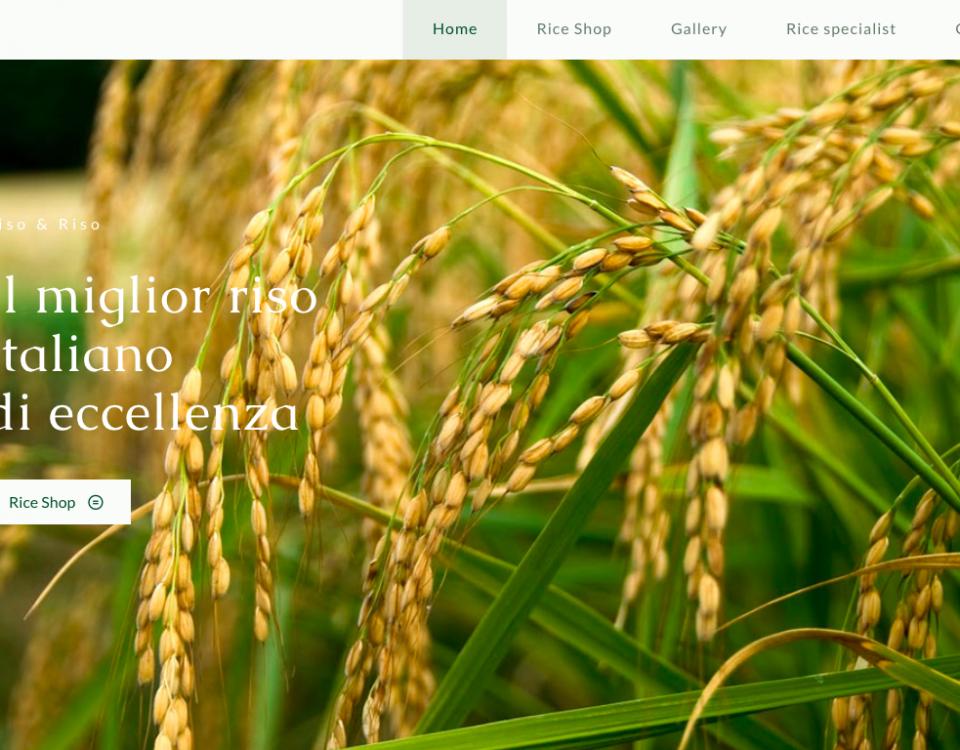 nuovo sito riso e riso